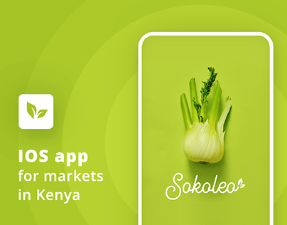 SOKOLEO - mobile app for open air market in Kenya