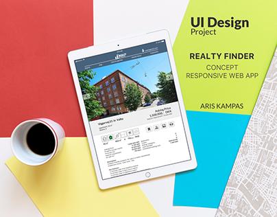 UI Design Project: Realty Finder