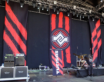 Official Turisas - Stage Backdrop