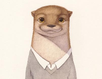 《水獭先生的新邻居》Mr. Otter's New Neighbours