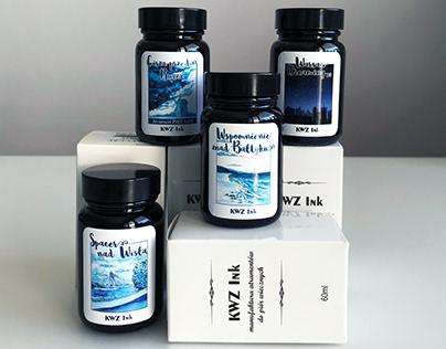 Projekt etykiet / Labels for KWZ ink