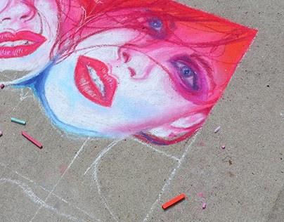 Street Art Advertising // Lifestyles the Gallery III