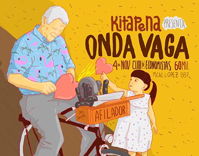 KITAPENA - ONDA VAGA Ilustracion y Diseño de Arte