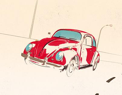 Volkswagen Beetle 1969 loop