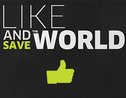 Like and Save the World