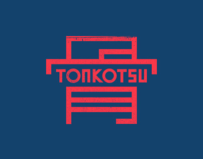 Tonkotsu Visual Identity