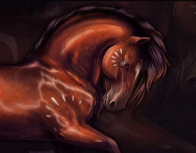 Kali - Digital Painting - Alpha Skao