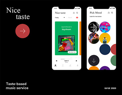 Nice Taste - a taste-based music service