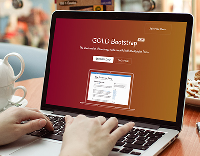 GOLDBootstrap.com Single Page HTML Showcase