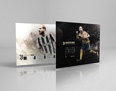 Juventus Match's Calendar April 2018 | Higuain/Sturaro
