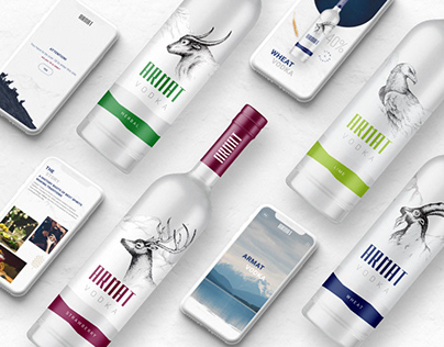 Armat Vodka Website Design and Development
