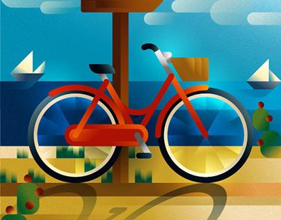 Bikes around the world