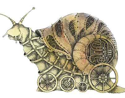 steampunk snail
