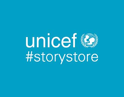 Unicef #StoriesStore