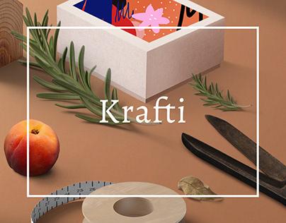 Krafti - Arts & Crafts Theme