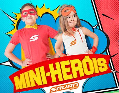 Mini-heróis - Savan Calçados