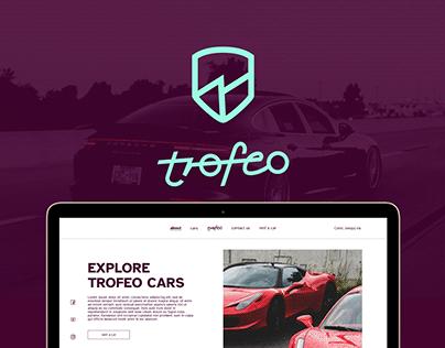 TROFEO exclusive car rental / UX