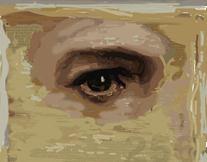 Something Beginning With - Digital Oil Painting