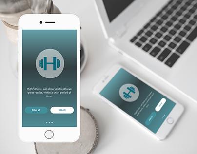 HighFitness_Workout mobile app