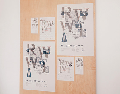 Rememorial WWI Exhibition and Visual Identity