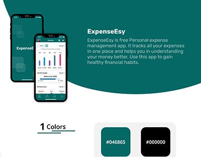 ExpenseEsy iOS presentation