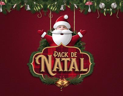 Social Media de Natal - Pack Editável Com 20 Artes.