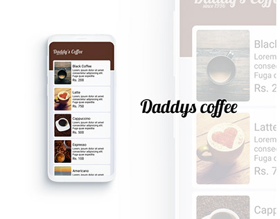 Daddy's Coffee App