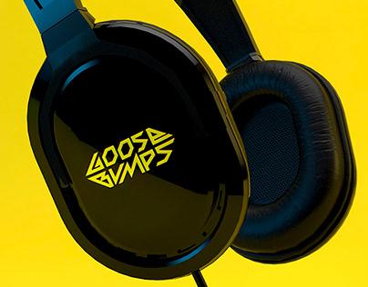 DJ -GooseBumps - Logotype and Identity