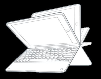 Hand + Tablet Illustrations