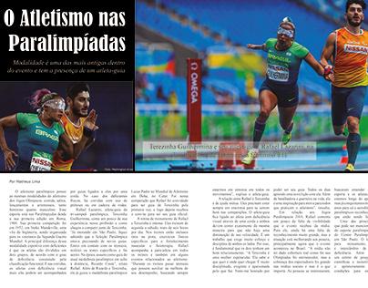O Atletismo nas Paralimpíadas