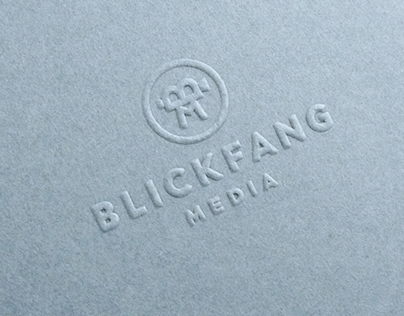 Blickfang Media Branding / Redesign