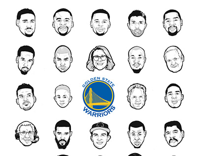2017 Golden State Warrior Fan Night T-shirt