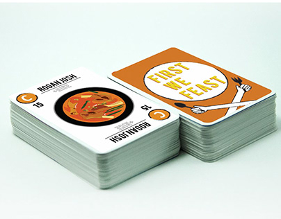 First We Feast- A food card game