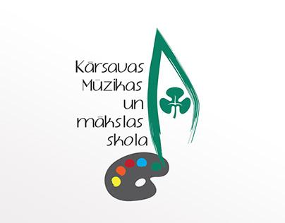 Kārsava Music and Art School logo