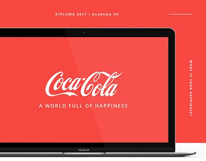 Coca-Cola - Website Concept