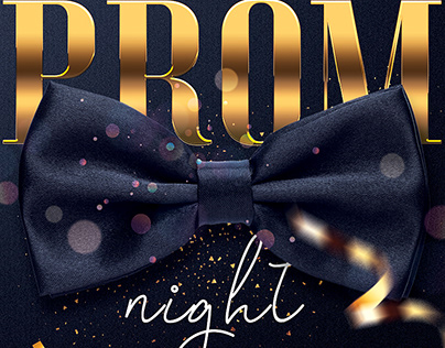 Prom Flyer Template