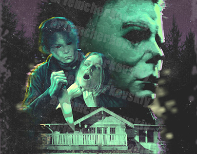 Poster for the movie Halloween for Universal Pictures
