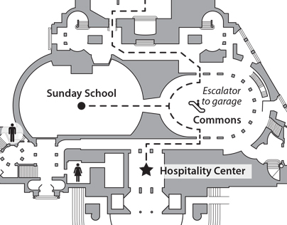 Event floor plan map - Annual Meeting 2015