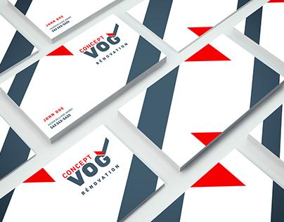 Refonte de logo Concept VOG