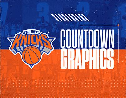 New York Knicks | Countdown Graphics