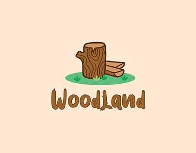 WoodLand Logo   Minimal Logo Design