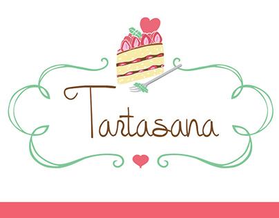 Tartasana Logo design