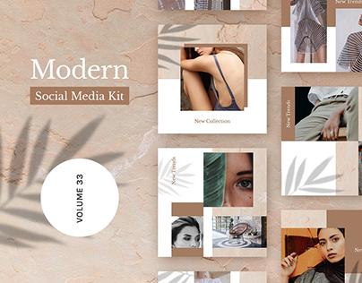 Modern Social Media Kit (Vol. 32)