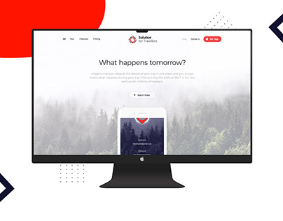Solutions For Traveler | Web&Mobile Design | 2019