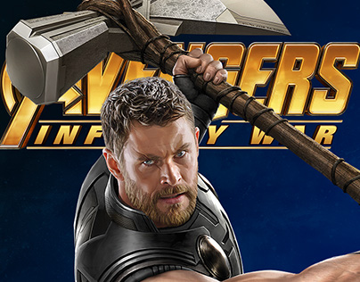 Thor - Infinity War - PVC Diorama