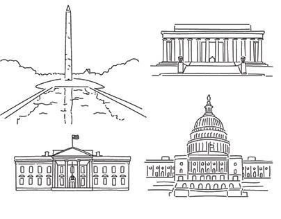 DC Line Art