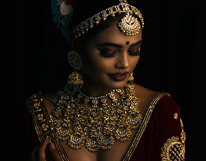 Traditional Bridal Makeup Shots