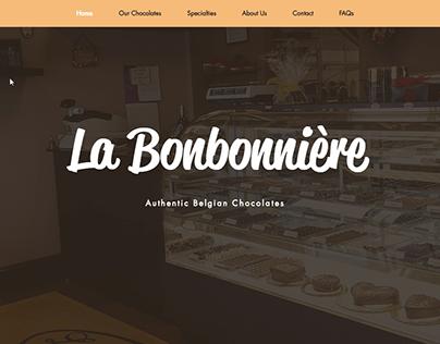 La Bonbonniere Website