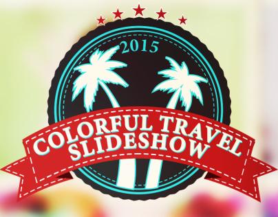 Colorful Travel Slideshow