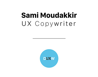UX Writing - Erreur d'email